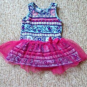 Paisley Tutu Dress